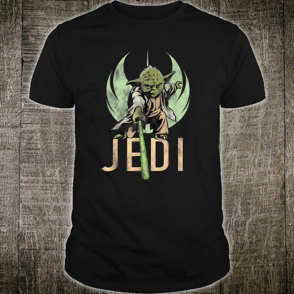 Star Wars Yoda Jedi Lightsaber Shirt