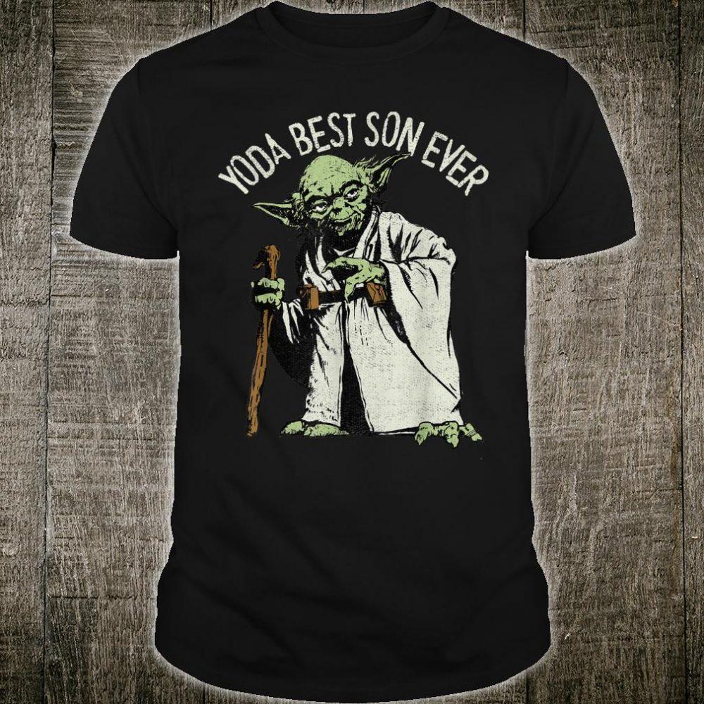Star Wars Yoda The Best Son Ever Shirt