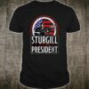 Sturgill for President T-Shirt Retro Distressed Style Shirt
