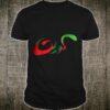 Stylish Text Of Kuwait Flag Colors Shirt