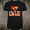 Super Dad Comic T shirt Superhero Father Day Shirt