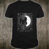 Tarot Card Crescent Moon And Cat Shirt