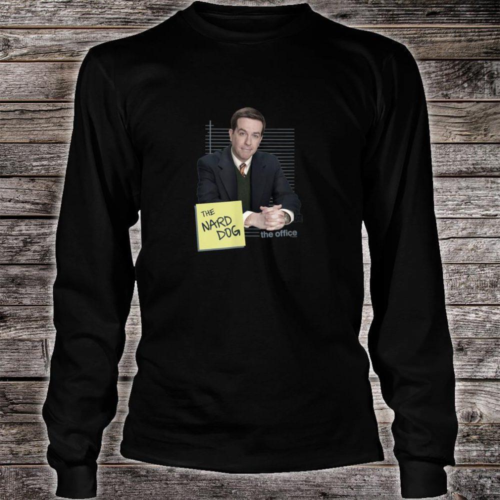 The Office Andy Bernard Nard Dog Standard Shirt long sleeved