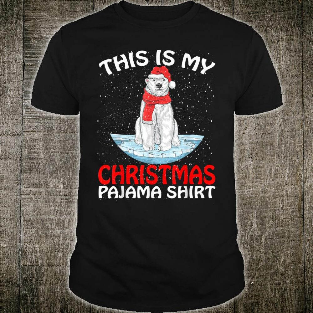 This Is My Christmas Pajama Shirt Bear Christmas Shirt