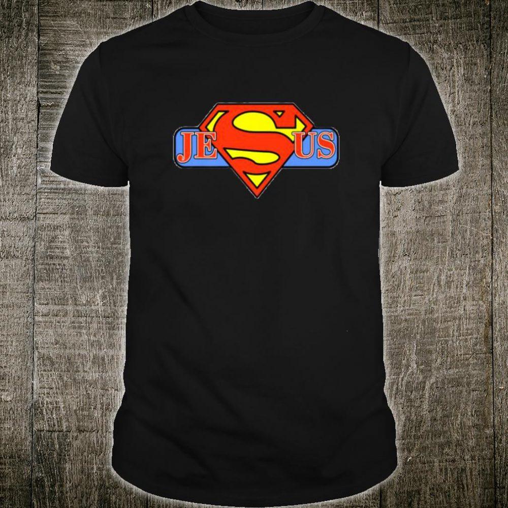 Tshirt My Superhero is Jesus, faith love god shirt Shirt